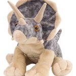 """Wild Republic Triceratops Plush, Dinosaur Stuffed Animal, Plush Toy, Gifts For Kids, Cuddlekins 12"""""""