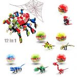 Dinosaur 3D Puzzle Model Kits DIY Dino Planet Transformers Toy Robot Building Kit 2-in-1 for Kids 78+pcs (6 dinosaur packs)