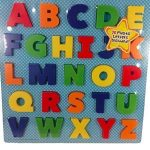 3D Letter Alphabet Puzzle