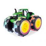 John Deere Monster Treads Deluxe Lightning Wheels Tractor