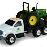 1:64 John Deere Dealership Truck With 6410 Tractor