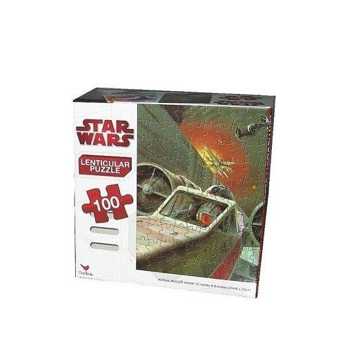 Star Wars Puzzle 100-Piece - Starfighter 3D