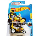 Hot Wheels 2016 HW Ride-Ons Grass Chomper (Ride-On Lawn Mower) 69/250, Yellow