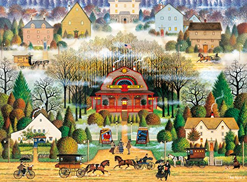 Buffalo Games - Charles Wysocki - Melodrama in the Mist - 1000 Piece Jigsaw Puzzle