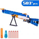 iPlay, iLearn Kids Building Gun Kits, M1 Galland Rifle Model Blocks Toy Set, Simulated Soft Bullet Shooting Bricks Playset Gift Collection for Age 6, 7, 8, 9, 10, 11, 12, 13, 14 Boys Teens Adults