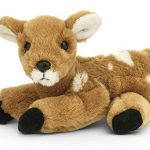 Bearington Forrester Plush Stuffed Animal Fawn, Deer 8""