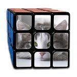 "Cat Tomcat Kitten Rubik's Cube 3D Printed 3x3 Magic Square 2.1"" Third-order Rubik Jigsaw Game Speed Cube Anti Stress Toys Adults Kids"