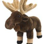 """Wild Republic Moose Plush, Stuffed Animal, Plush Toy, Gifts for Kids, Cuddlekins 12"""""""