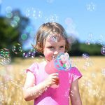 Avando Bubble Gun with Soap Solution Best Kids Gift Bubble Shooter Brower Bubble Blaster for Kids
