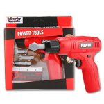 Liberty Imports Power Tools Mini Toy Set with 3 Drill Bits
