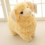 LUCKSTAR(TM) Off-white 28CM Lovely Soft Sheep Goat Animal Stuffed Plush Doll Toy Birthday Gift Home Decoration