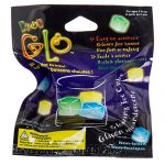ibobby, Neon Glo Ice Cube, 1 inch, Multicolour, 144 Pieces