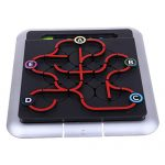 Fenteer 3D 64 Levels Subway Labyrinth Puzzles Brain Teasers for Kids Children IQ Toy