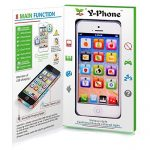 Mofun Toy Phone Baby Childrens Y-Phone Educational Learning Kids Iphone Toy 4S 5