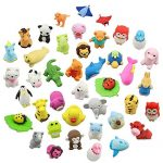 LW Funny Toys 30PCS Anima Erasers Zoo Animal Assorted Puzzle Erasers Collectible for Party Favors Games Prizes Carnivals and School Supplies Best Gifts Party Gifts