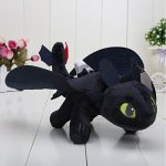 "HTTYD How to Train Your Dragon 2 - 10"" Toothless Night Fury Stuffed Animal Plush Doll Toy"