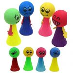 Jialeey Educational Toys Jump Elf Bounce Toy Kids Baby Educational Children Doll Relieve Stress Party Games Toys for age 3 4 5 Years Old and Up Kid Children Baby Toddler Boy Girl, 8PCS