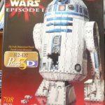 Puzz3D Star Wars R2-D2 3D puzzle by Wrebbit