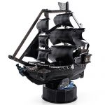 CubicFun T4035h Queen Anne's Revenge Vessel Models 3D Puzzle, 100 Pieces