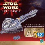 Star Wars Episode 1: Gungan Sub 3-D Mini Puzzle