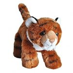 "Wild Republic Tiger Plush, Stuffed Animal, Plush Toy, Gifts for Kids, Hug'Ems 7"""