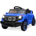 Best Choice Products 6V Kids Ride-On Car Truck w/ Parent Control, 3 Speeds, LED Headlights, MP3 Player, Horn - Blue