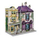 WREBBIT 3D Harry Potter Madam Malkin's & Florean Fortescue's Ice Cream 3D Jigsaw Puzzle (290-piece