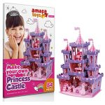 Girls Toys Princess Games - 3D Puzzle Princess Castle - Gifts Girls 10 Years Old Under Educational Toys Craft Kids (84 Pieces)