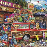 Buffalo Games - Aimee Stewart - Family Vacation - 1000 Piece Jigsaw Puzzle