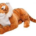 Wild Republic Jumbo Tiger Plush, Giant Stuffed Animal, Plush Toy, Gifts for Kids, 30 Inches