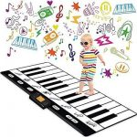 "Keyboard Playmat 71"" - 24 Keys Piano Play Mat - Piano Mat has Record, Playback, Demo, Play, Adjustable Vol. - Original - by Play22"