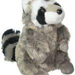 "Wildlife Artists Raccoon Plush Animal 10"" H"