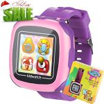 "Kids Game Smart Watch for 3-12 Year Boys Girls Toddlers with Pedometer 3MP Camera 1.5"" Touch Screen 10+ Puzzle Games Children Learning Wrist Watch Fitness Tracker for Student Holiday Birthday Gifts"