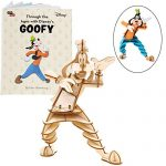 IncrediBuilds Disney Goofy Book and 3D Wood Model Kit - Build, Paint and Collect Your Own Wooden Model - Great for Kids and Adults, 8+ - 6""