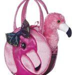 Aurora World Fabulous Flamingo Fancy Pals Pet Carrier - 32604