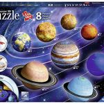 Ravensburger 11668 3D Puzzle Solar System, Multicolor