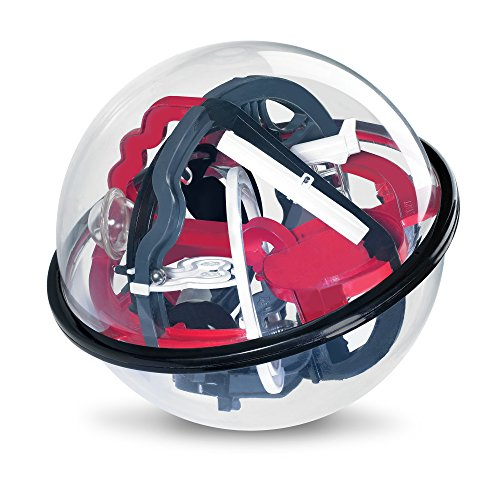 Sharper Image Amazing Educational Space Mission Globe Maze Children's Toy 80 Different Obstacles for Hours of Fun, Durable & Lightweight, Helps Develop Essential Skills Fun 3D Labyrinth Activity