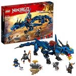 LEGO NINJAGO Masters of Spinjitzu: Stormbringer 70652 Ninja Toy Building Kit with Blue Dragon Model for Kids, Best Playset Gift for Boys (493 Piece)