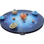 3D Puzzle Solar System Planets Outer Space Educational Toy