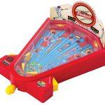 Ideas In Life Desktop Pinball Mini Baseball Game Kids Tabletop Travel Games 1 2 Player Fun Activity Toy Hit Targets Home Run