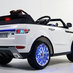 Ride on car to Drive Remote Control Battery Operated car 12V Total. for Boys and for Girls 2 to 5 Years Electric Car for Kids. rc+Engine Sound+Open Doors+Leather Seats+Safety Belt!