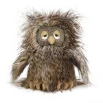 Jellycat Mad Pet Orlando Owl Stuffed Animal, 9 inches