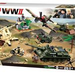 SlubanKids Army Building Blocks WWII Series Battle of Kursk Building Toy Army Fighter Jet & Tank 998 Pc Set | Indoor Games for Kids