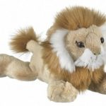 "9"" Lion Plush Stuffed Animal Toy"