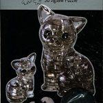 "HCM? ""Couple of Cats Crystal Puzzle (49-Piece, Multi-Colour)"