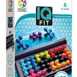 SmartGames IQ Fit – a Fun 3D Travel Game for Ages 7-Adult Featuring 120 Challenges!