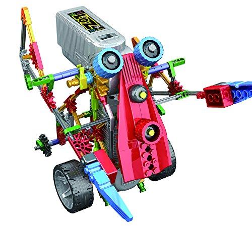 LOZUSA Battary Oprator Robot 209 PCS Motorial Alien Robot Educational STEM Robotic Building Set Block Toy, Battery Operated Motor, 3D Puzzle Design Alien Primate Robot Figure for Kids and Adults
