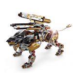 Microworld 3D Metal Nano Puzzle A Roaring Lion Assemble Model Kit D001 DIY 3D Laser Cut Jigsaw Toy