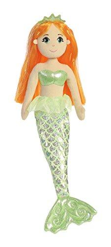 Aurora World Sea Sparkles Amber Mermaid Plush