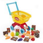 Think Gizmos Shopping Cart Set TG705 - Toddler Play Set for Boys & Girls Aged 3 4 5